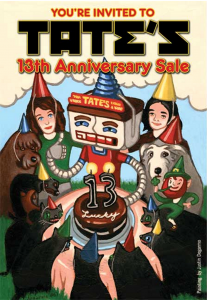 13th Anniversary Sale Flyer