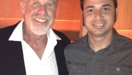 With Ron Perlman!! I told him that I've been a fan since Ice Pirates... and then I asked him for a picture. He said: If you said any other movie I would told you to F' off.
