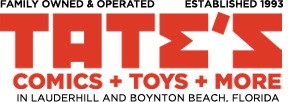 TATE'S Comics + Toys + More
