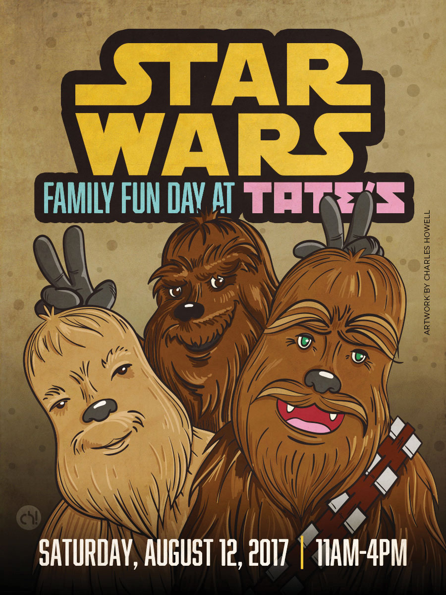 TATE'S Comics + Toys + More | Star Wars Family Fun Day