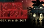 Don't miss our super amazing Halloween Tent Sale!