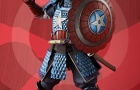 Staff Pick of the Week: Bandai Tamashii Nations Samurai Captain America Action Figure