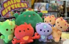 Staff Pick of the Week : Kaiju Kitties 8″ Super Soft Plushies