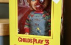 "Staff Pick of the Week : Mezco Child's Play Talking Pizza Face Chucky 15"" Mega Scale Figure"
