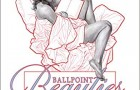 Staff Pick of the Week : Ballpoint Beauties By Frank Cho Hardcover Art Book